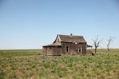 Zaniechany Stary dom Obraz Royalty Free