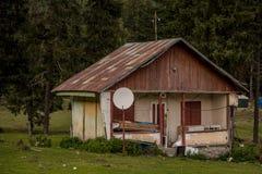 Zaniechany Stary dom obraz stock