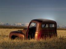 zaniechany stary pickup zdjęcie stock