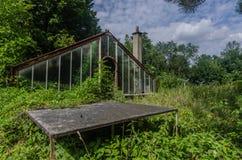 zaniechany szkło dom zdjęcie royalty free