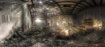 zaniechany teatr ii Fotografia Stock