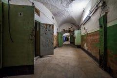 Zaniechany więzienie, Patarei w Tallinn, Estonia Obrazy Royalty Free