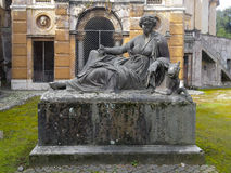 Zaniechany zabytek wśrodku willi Albani w Rzym, Włochy Obrazy Royalty Free