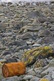 zanieczyszczający morze Zdjęcia Stock