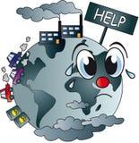 zanieczyszczający świat Fotografia Stock