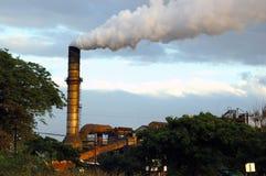 zanieczyszczenia Fotografia Stock
