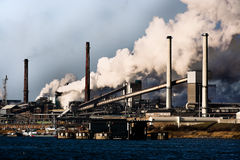 zanieczyszczenia lotniczy globalny nagrzanie Fotografia Stock