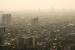 Zanieczyszczenia miasto Zdjęcie Stock