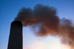 zanieczyszczenia niebo Obrazy Royalty Free