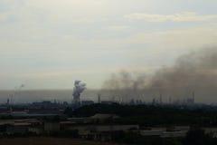 zanieczyszczenie Fotografia Stock