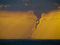 zanieczyszczenie Fotografia Royalty Free