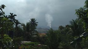 Zanieczyszczenie i natura Zdjęcie Royalty Free