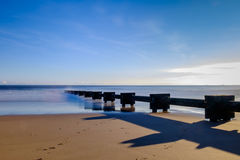 Zanieczyszczenie morze Fotografia Royalty Free