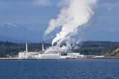 zanieczyszczenie powietrza fotografia stock