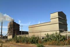 Zanieczyszczenie powietrza od fabryk w Etiopia Obrazy Stock