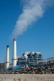 Zanieczyszczenie powietrza od przemysłowej rośliny Zdjęcie Royalty Free