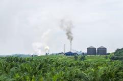 Zanieczyszczenie powietrza produkujący Obrazy Royalty Free