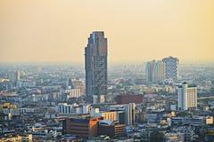 Zanieczyszczenie powietrza w mieście Obrazy Stock