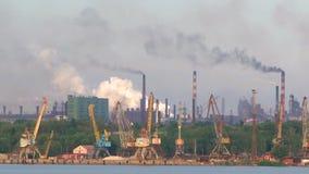 Zanieczyszczenie Powodować środowisko fabryka dymem zdjęcie wideo