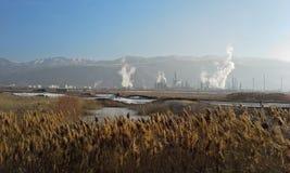 Zanieczyszczenie w Salt Lake City Obrazy Stock