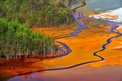 zanieczyszczenie woda Obrazy Royalty Free