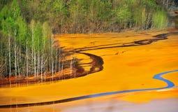 zanieczyszczenie woda Obrazy Stock