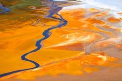 zanieczyszczenie woda fotografia stock