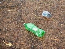 zanieczyszczone wody Obrazy Royalty Free