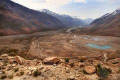 Zanskar谷(印度) 库存照片