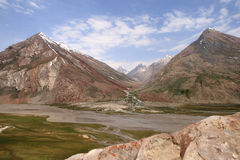 Zanskar谷(印度) 免版税库存图片