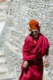 ZANSKAR, INDIA - 15 LUGLIO 2015: Mysti aspettante della lama senza titolo Fotografia Stock Libera da Diritti