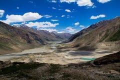 Zanskar Landscape. A normal day in the Zanskar region in India royalty free stock photo