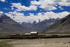 Zanskar Landscape. At Rangdum in Zanskar which is gifted with extraordinary natural beauty Stock Image