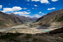 Zanskar landskap Royaltyfri Foto