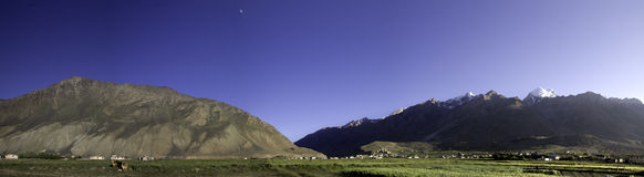Zanskar panorama Royalty Free Stock Photos