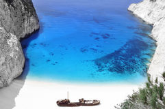 Zante do Shipwreck Fotografia de Stock Royalty Free