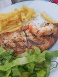 Zante food sword fish stock image