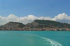 Zante stad Zakynthos ö Grekland Fotografering för Bildbyråer