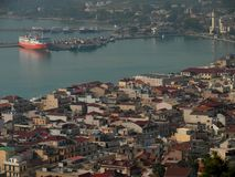 Zante-Stadt Zakynthos-Insel Griechenland Stockbild