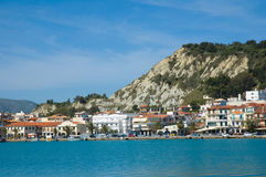 Zante town Stock Photo