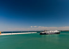 ZANTE, Zante transporte en bac le ferry Photos stock