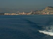Zantestad Het eiland van Zakynthos Griekenland Stock Afbeelding