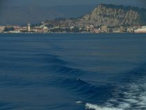 Zantestad Het eiland van Zakynthos Griekenland Stock Foto's