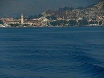 Zantestad Het eiland van Zakynthos Griekenland Stock Foto