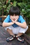 zanudzająca chłopiec Zdjęcie Stock