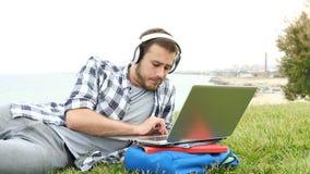 Zanudzający i udaremniający studencki nauczanie online zdjęcie wideo