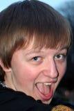 Zany Teenage Boy Stock Images