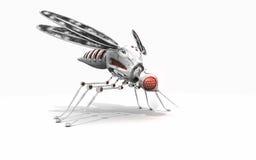 Zanzara cyber illustrazione di stock