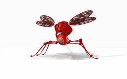 Zanzara del robot illustrazione di stock