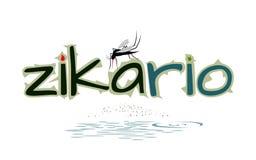 Zanzara pericolosa - illustrazione attenta di vettore del virus Immagine Stock Libera da Diritti